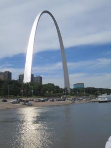 Gateway Arch - St; Louis MO