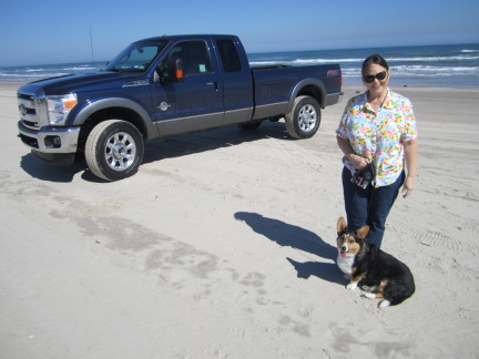 Rosie and Sandy  at So Padre Island