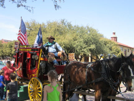 Stagecoach at the Stockyards