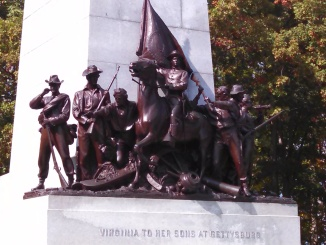 One of the Gettysburg Memorials