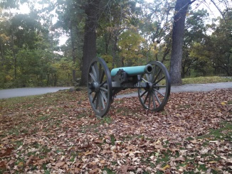 Canon at Gettysburg