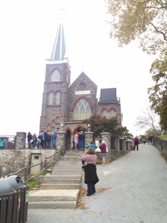 Harpers Ferry Catholic church