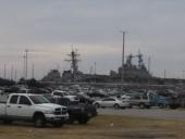 Navy Fleet at Dock