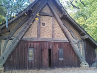 Jamestown Glass Blowing Cottage